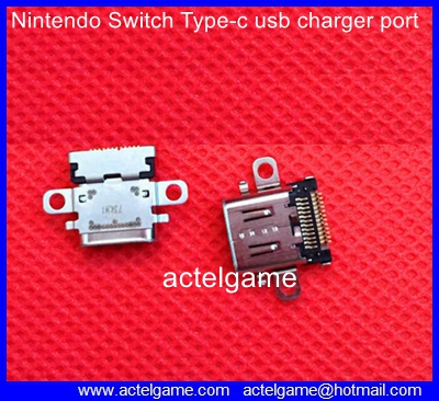 Nintendo Switch Type-c usb charger port